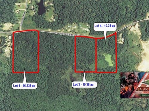 16.2 Ac Large Home Site Lots Pric : West Monroe : Ouachita Parish : Louisiana