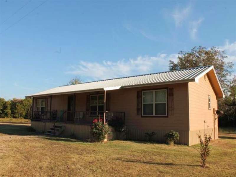 Home On 10 Acres (#29524) : Deport : Lamar County : Texas