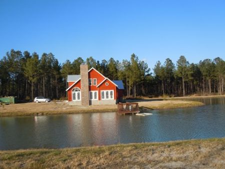 84.5 Acres With New Cabin And Pond : Metter : Candler County : Georgia