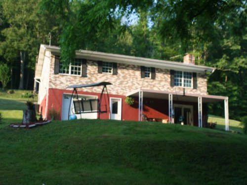 4.17 Acres,Private One Story Ranch : Sutton : Braxton County : West Virginia