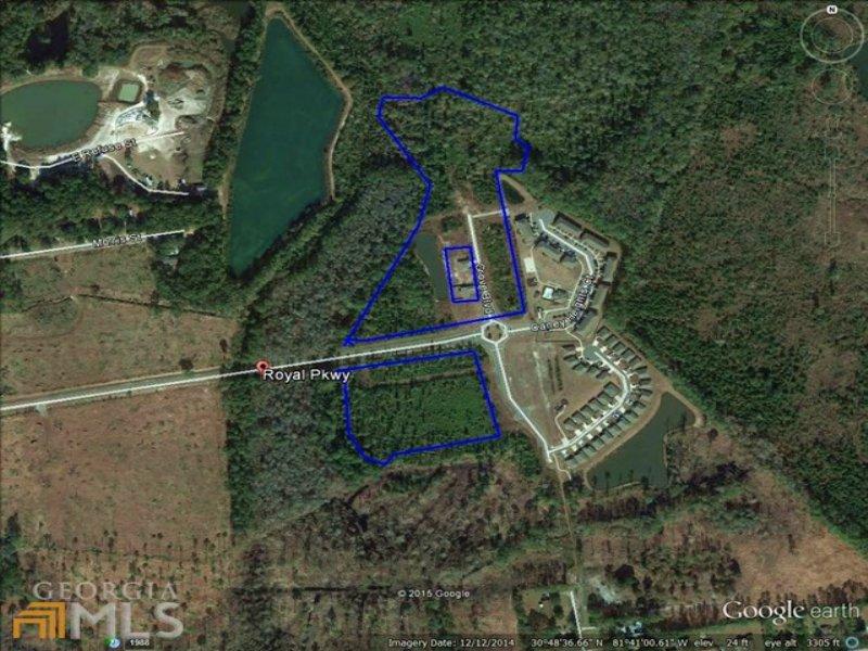 Bank Owned 19.17 Acres : Kingsland : Camden County : Georgia