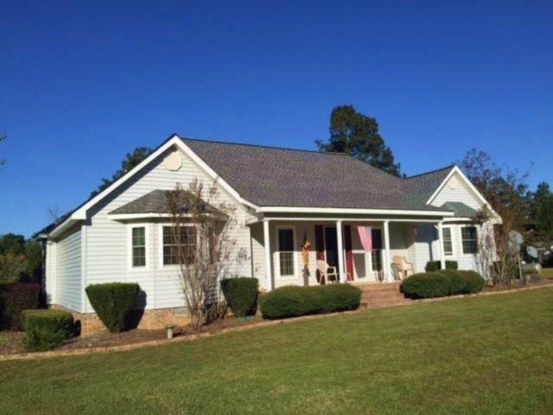 Horse Farm With 2,400 Sf Home : Harrison : Washington County : Georgia