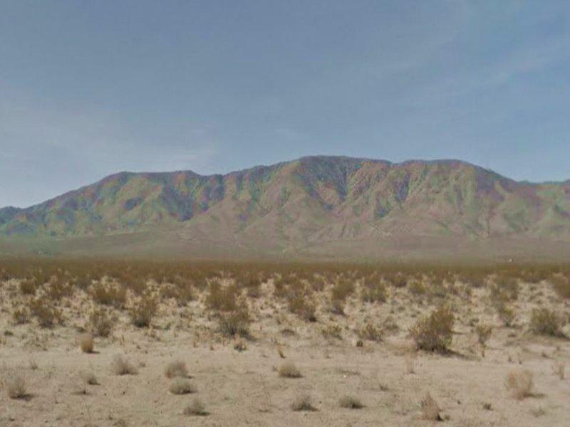 5 Acre Residential Parcel In Lander : Landers : San Bernardino County : California