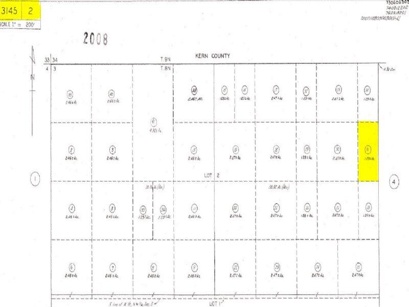 1.23 Acre Lancaster Land For Sale : Lancaster : Los Angeles County : California