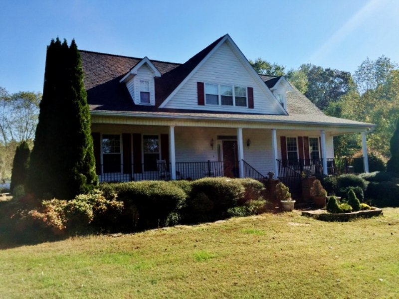 Beautiful  Home W/ 65 Fenced Acres : Adairsville : Bartow County : Georgia