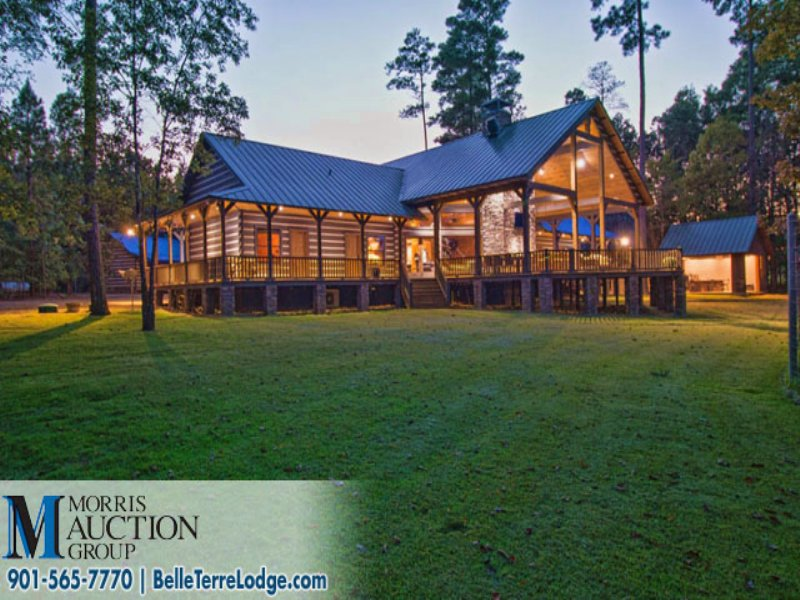 Auction - Hunting Estate & Lodge : Bradley : Lafayette County : Arkansas
