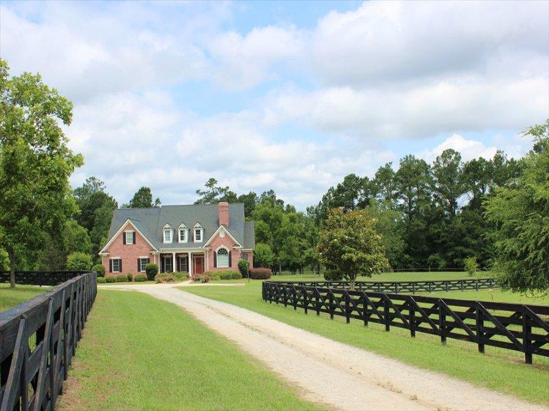 Cattle Farm With A 4000 Sf Home : Sandersville : Washington County : Georgia