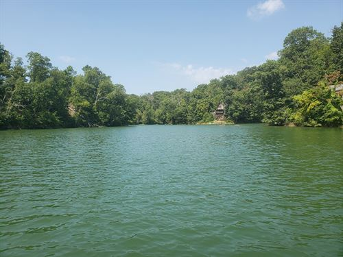 3.47 Acre Cherokee Lake Front Lot : Mooresburg : Hawkins County : Tennessee