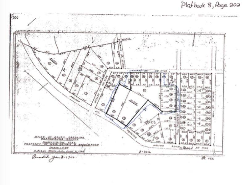 2.9+/- Acres In Orangeburg, Sc : Orangeburg : Orangeburg County : South Carolina