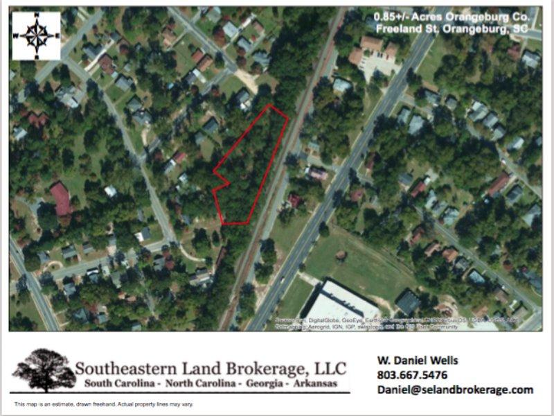 0.85 Acres In Orangeburg, Sc : Orangeburg : Orangeburg County : South Carolina