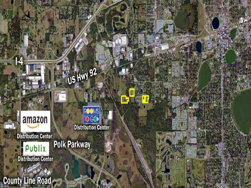 Central Lakeland Residential Land : Lakeland : Polk County : Florida