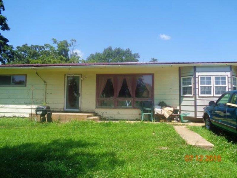 2br 1ba 1,600+/- Sf 1-story Sing : Vichy : Maries County : Missouri
