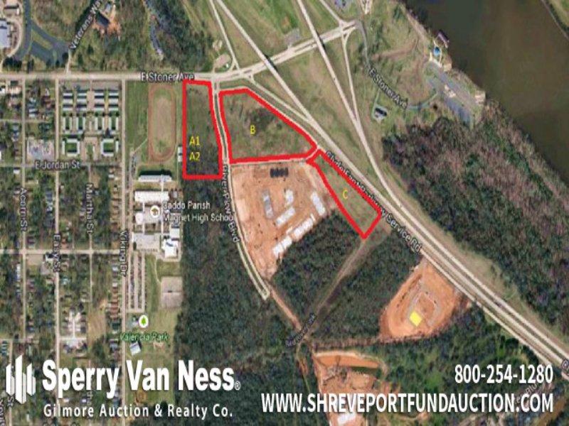 Real Estate Auction : Shreveport : Caddo Parish : Louisiana