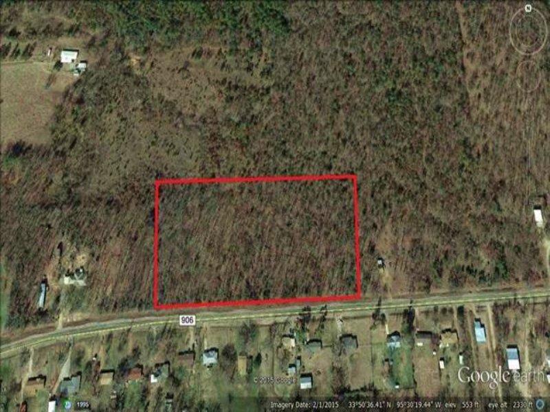 8+ Acres (#29535) : Arthur City : Lamar County : Texas
