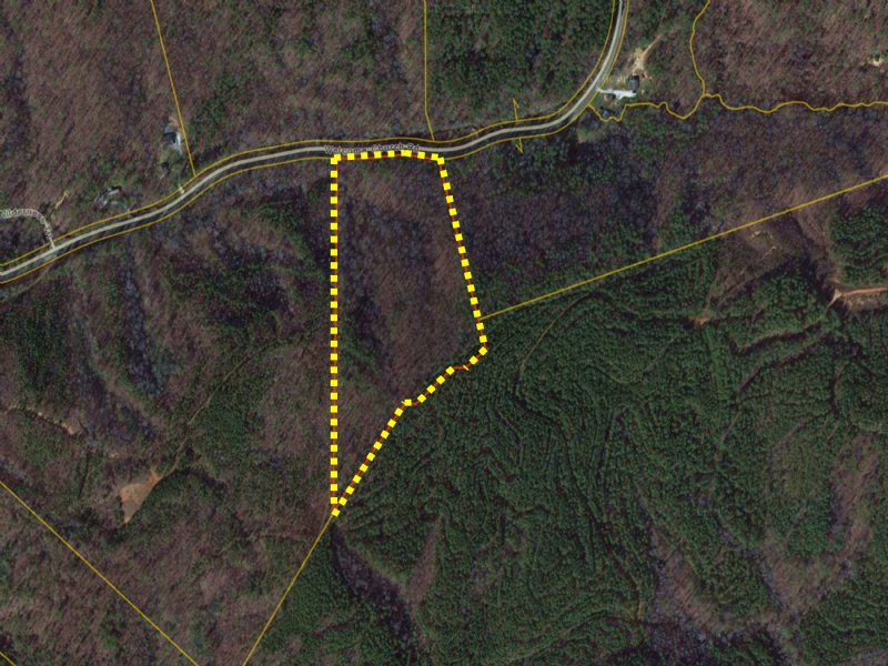 12 Acres W/ Mature Hardwoods : Westminster : Oconee County : South Carolina