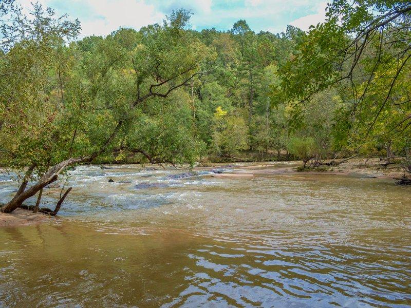 40 Acres On Tyger River Near I-26 : Pauline : Spartanburg County : South Carolina