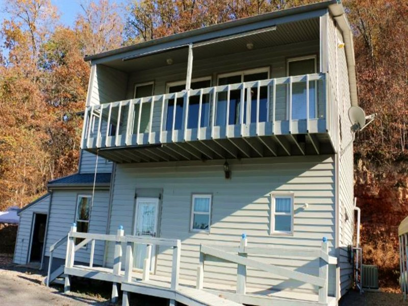 2 Bed Home On Illinois River : Proctor : Cherokee County : Oklahoma
