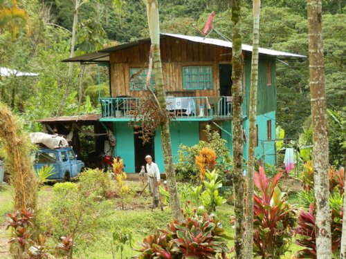Rustic 2 Story Mountain Cabin : Orosi De Cartago : Costa Rica